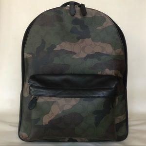 COACH Charles Signature Camo Print Backpack